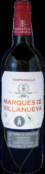 """Tempranillo """"Marqués de Villanueva"""" Cariñena D.O."""
