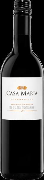 Agricola Castellana Cuatro Rayas - Casa Maria Tempranillo tinto Tierra de Castilla