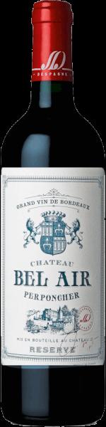 Château Bel Air rouge Réserve Bordeaux AOC