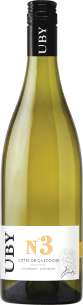"""""""Domaine Uby"""" Colombard Sauvignon Côtes de Gascogne IGP"""