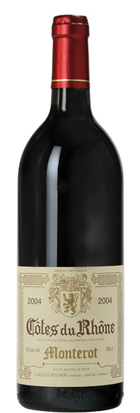 Claudius Rocher - Côtes du Rhône Monterot AOC
