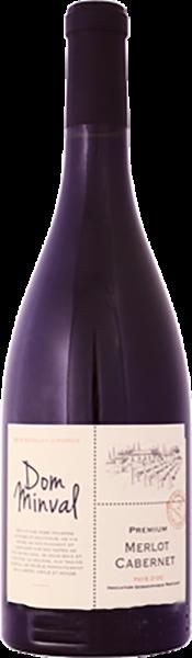 Les Vignerons du Narbonnais - Dom Minval Premium Merlot Cabernet Pays dOc