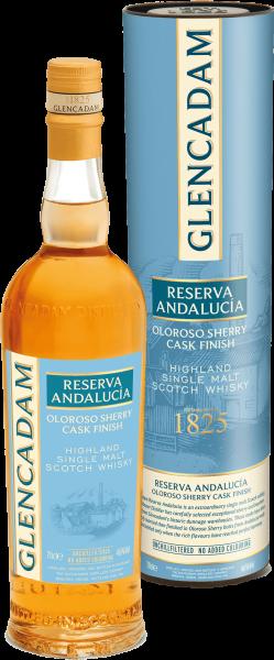 Glencadam Reserva Andalucía Oloroso Sherry Cask Finish