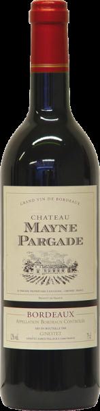 Château Mayne Pargade Bordeaux AOC