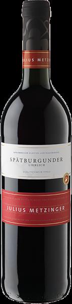 Südpfälzer Weinvertrieb - Julius Metzinger Spätburgunder QbA lieblich