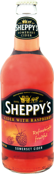 Sheppys Craft Cider - Sheppys Somerset Cider with Raspberry