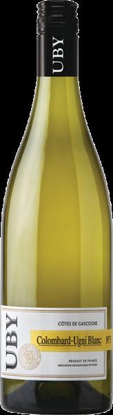 """""""Domaine Uby"""" Colombard Ugni Blanc Vin de Pays de Côtes de Gascogne"""