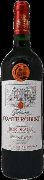 """Château Ducloset """"Comte Robert"""" Bordeaux rouge AOC"""