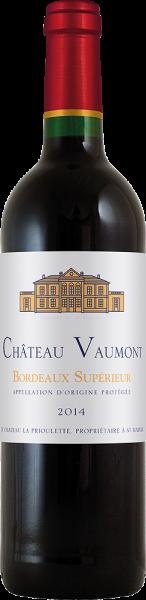 Château Vaumont - Château Vaumont Bordeaux supérieur rouge AOP