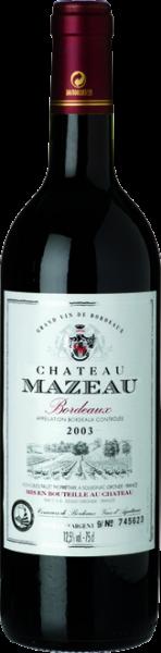Château Mazeau Bordeaux AOC