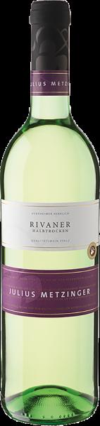 Südpfälzer Weinvertrieb - Julius Metzinger Rivaner QbA halbtrocken