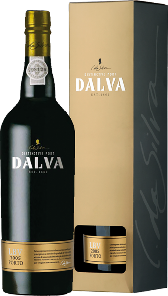 C da Silva - Dalva Port Late Bottled Vintage in Geschenkpackung