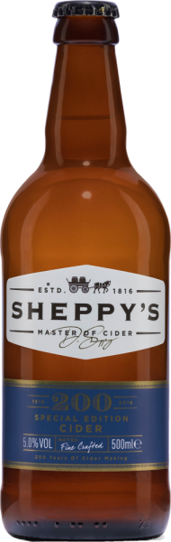 Sheppy's 200 Years Special Edition Apple Cider