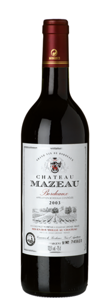 Château Mazeau - Château Mazeau Bordeaux AOC