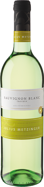 Südpfälzer Weinvertrieb - Julius Metzinger Sauvignon Blanc QbA trocken