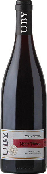 Domaine Uby - Domaine UBY Merlot Tannat Côtes de Gascogne IGP