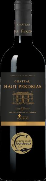 Château Haut Perdrias Blaye Côtes de Bordeaux AOC