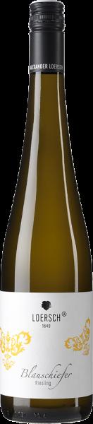 Weingut Loersch - Blauschiefer Riesling trocken Mosel QbA